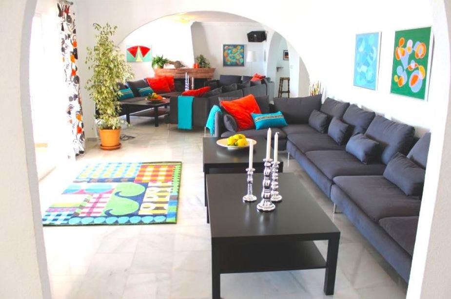 Villa los Arcos lounge