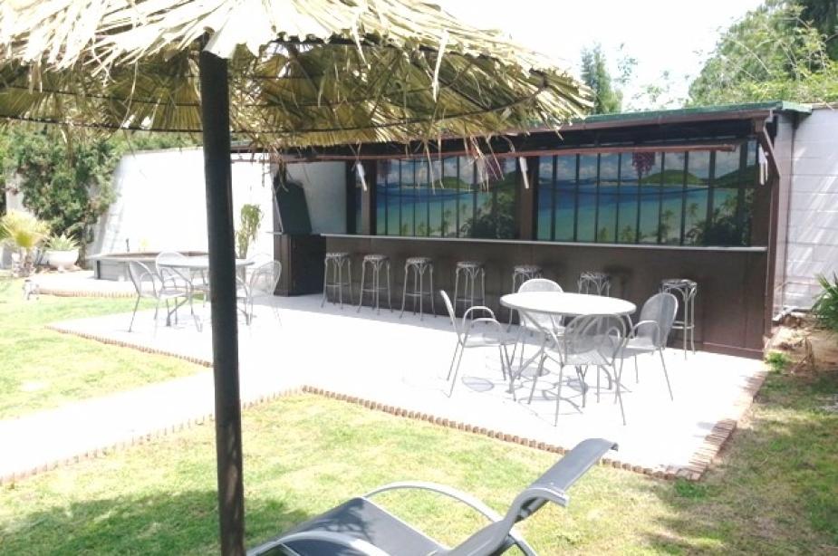 Private chiringquito (beach bar)