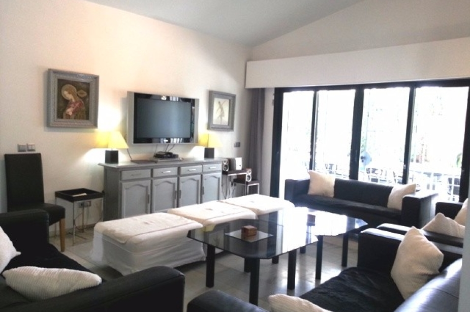 TV lounge area
