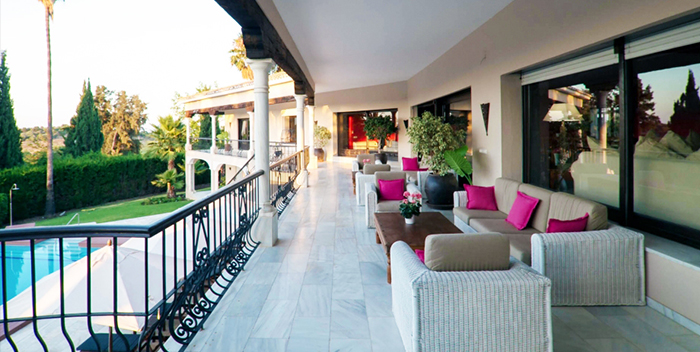 Villa el Palacete weddings in Marbella