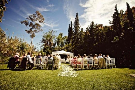 Marbella wedding villa wedding 2