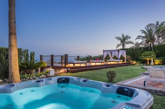 Holidays in Marbella Villa Blanca 5