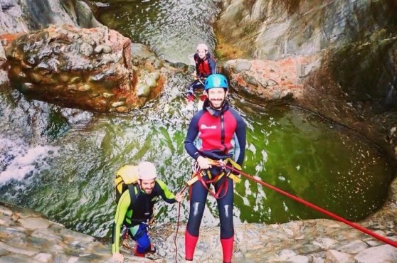 Activities in Marbella abseiling