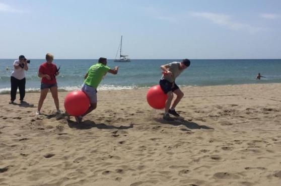 Activities in Marbella beach games