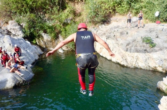 Activities in Marbella canyoning 2