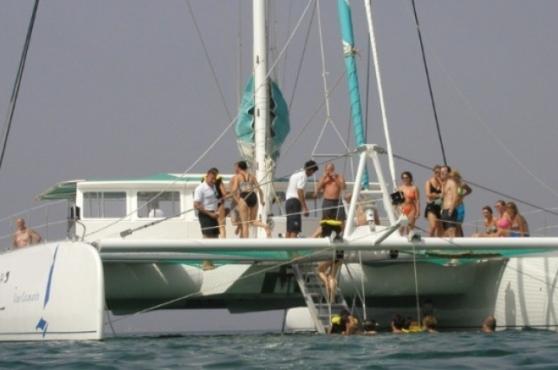 Activities in Marbella catamaran