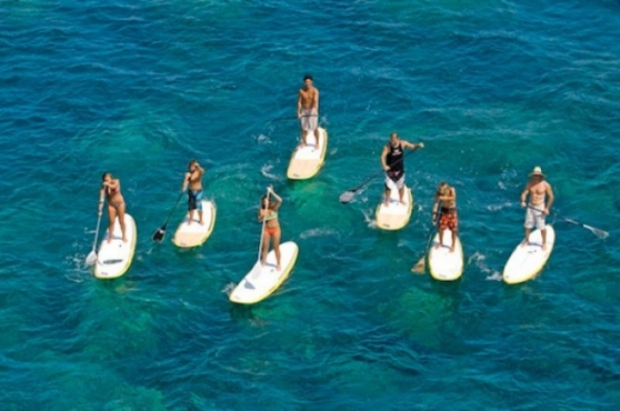 Activities in Marbella paddle boarding