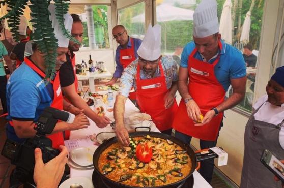Activities in Marbella paella cooking