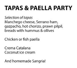 marbella villa catering