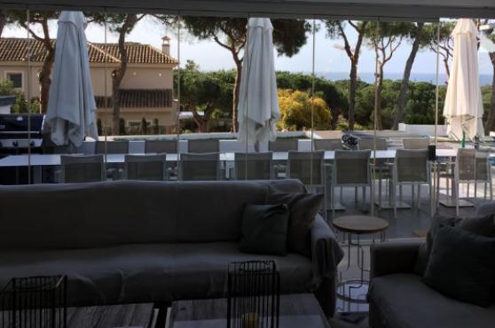 Villa Domino Elviria outside dining