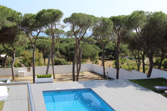 Villa Domino Elviria sea views