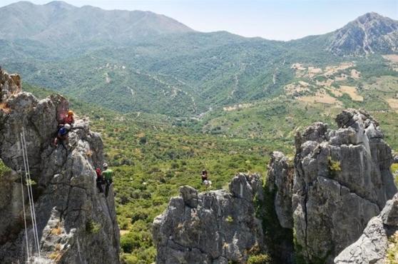 activities in marbella via ferrata