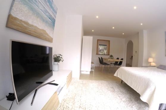 Villa Domino Marbella sleeps 22 – apartment lounge area
