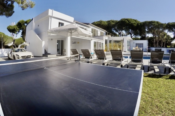Villa Domino Marbella sleeps 22 – table tennis