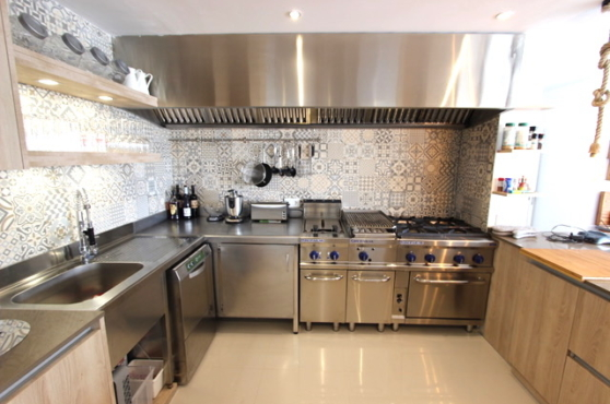 Villa Domino Marbells sleeps 22 – kitchen